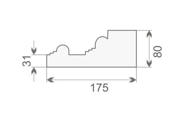 Baza pilastra BP1/300