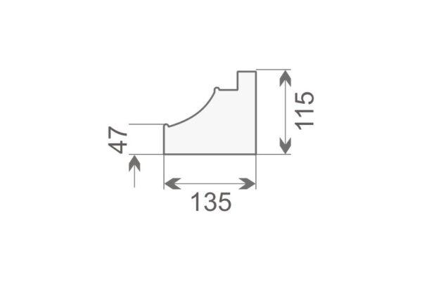 Baza pilastra BP2/350