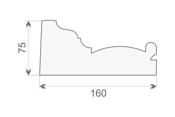 Gzyms elewacyjny GE10