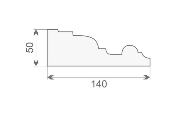 Gzyms elewacyjny GE20