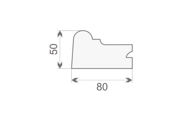 Gzyms elewacyjny GE7